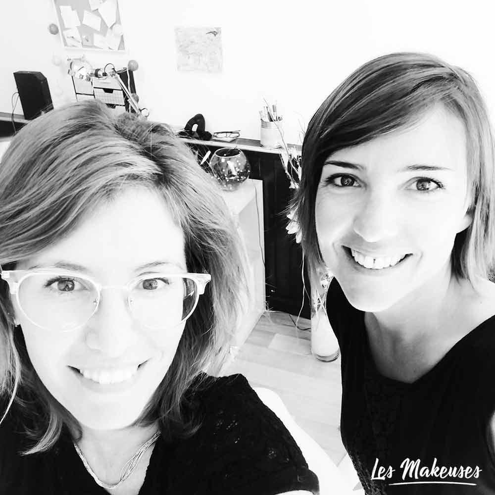 Céline Lassalle et Capucine Bertrand